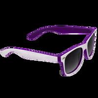 White/Purple Daytona Sunglasses Thumb