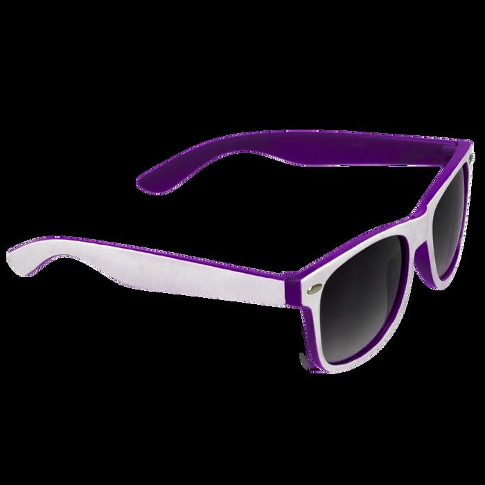 White/Purple Daytona Sunglasses