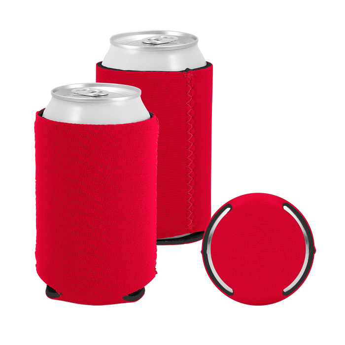 Red Premium Collapsible Neoprene Koozie