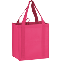 Bright Pink Little Storm Grocery Bag Thumb
