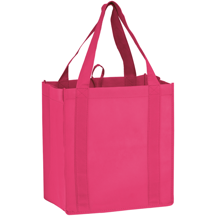 Bright Pink Little Storm Grocery Bag