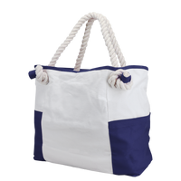 Navy Bungalow Beach Bag Thumb