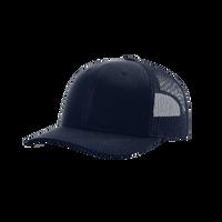 Navy Richardson Trucker Snapback Hat Thumb
