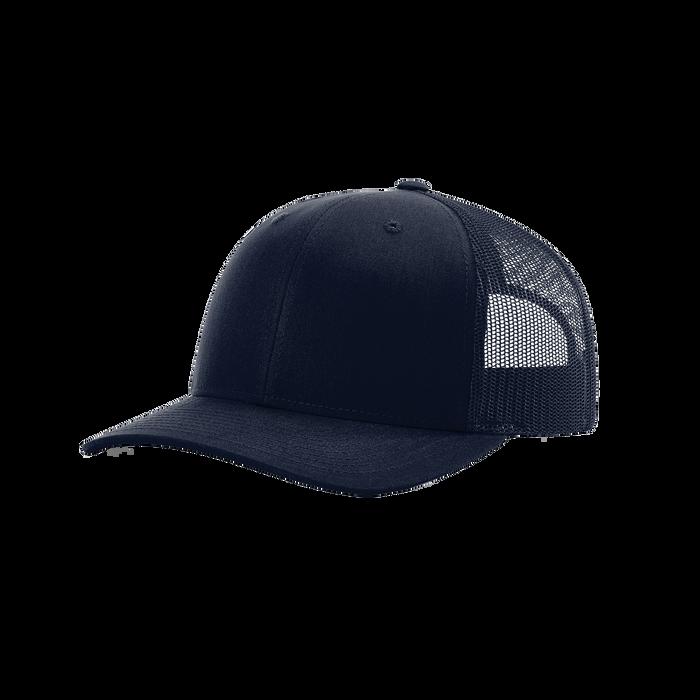 Navy Richardson Trucker Snapback Hat