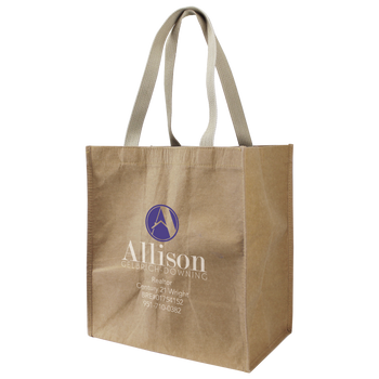 Washable Paper Little Storm Grocery Bag