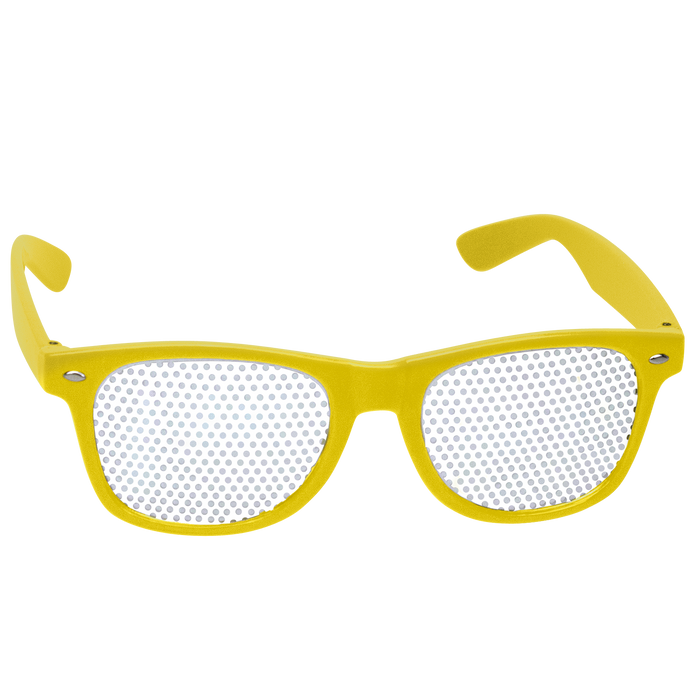 Yellow Vegas Sunglasses