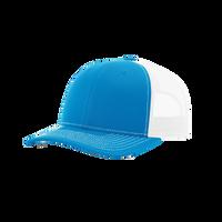 Cyan/White Richardson Trucker Snapback Hat Thumb
