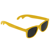 Yellow Panama Bottle Opener Sunglasses Thumb