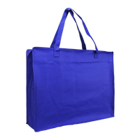 Royal Blue Zip-Up Convention Tote Plus Thumb