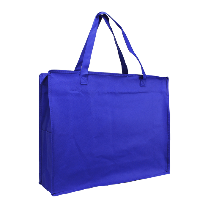 Royal Blue Zip-Up Convention Tote Plus