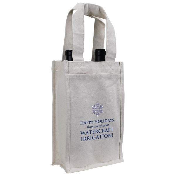 cotton canvas bags,  wine totes,