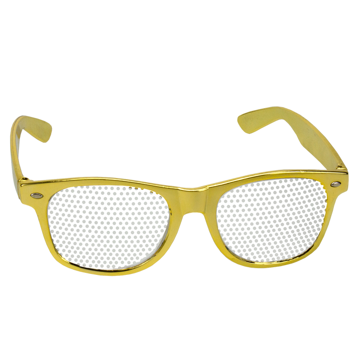 Gold Vegas Sunglasses