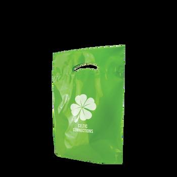 Small Eco-Friendly Die Cut Plastic Bag