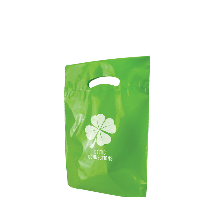 Small Eco-Friendly Die Cut Plastic Bag