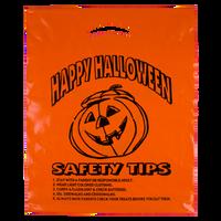 Orange Orange Pumpkin Safety Tips Bag Thumb
