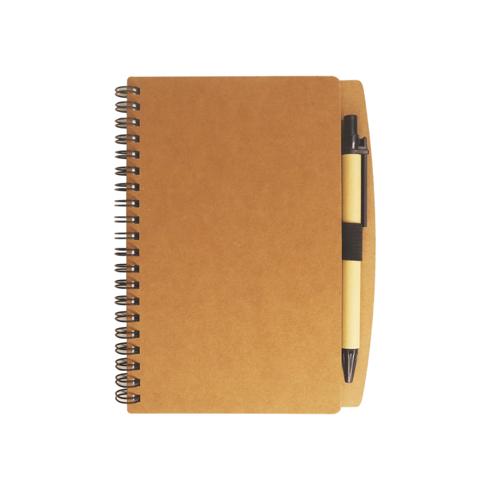 Natural Eco Stone Paper Notebook with Pen