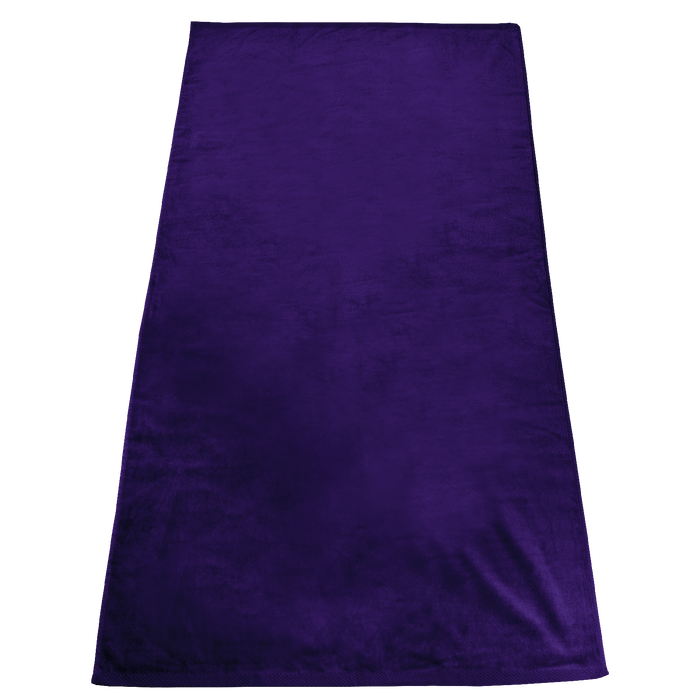 Purple Gypsea Color Beach Towel