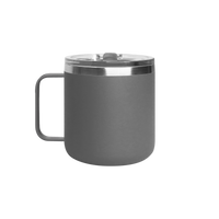 Matte Grey Stainless Steel Insulated Camper Mug Thumb