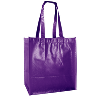 Purple Laminated Little Storm Grocery Bag Thumb