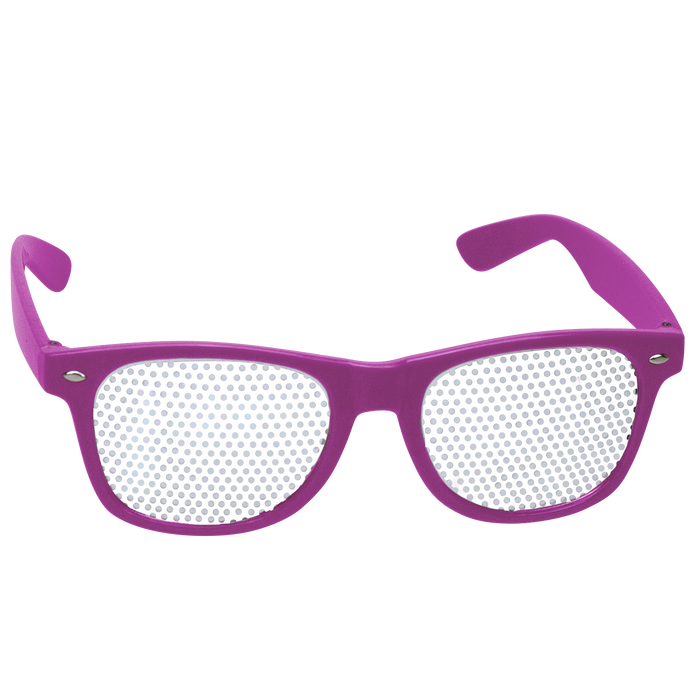 Purple Vegas Sunglasses