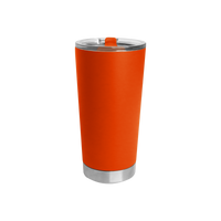 Neon Orange Small Stainless Steel Insulated Tumbler Thumb