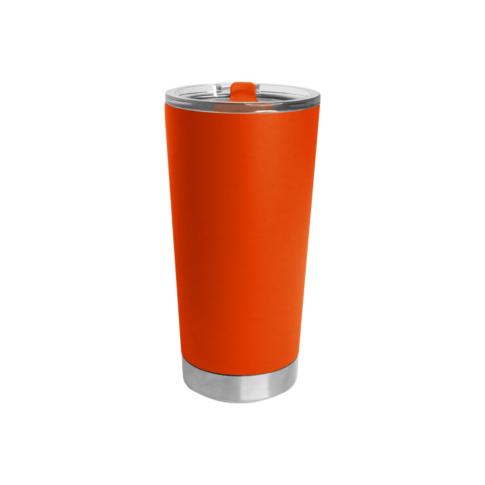 Neon Orange Small Stainless Steel Insulated Tumbler