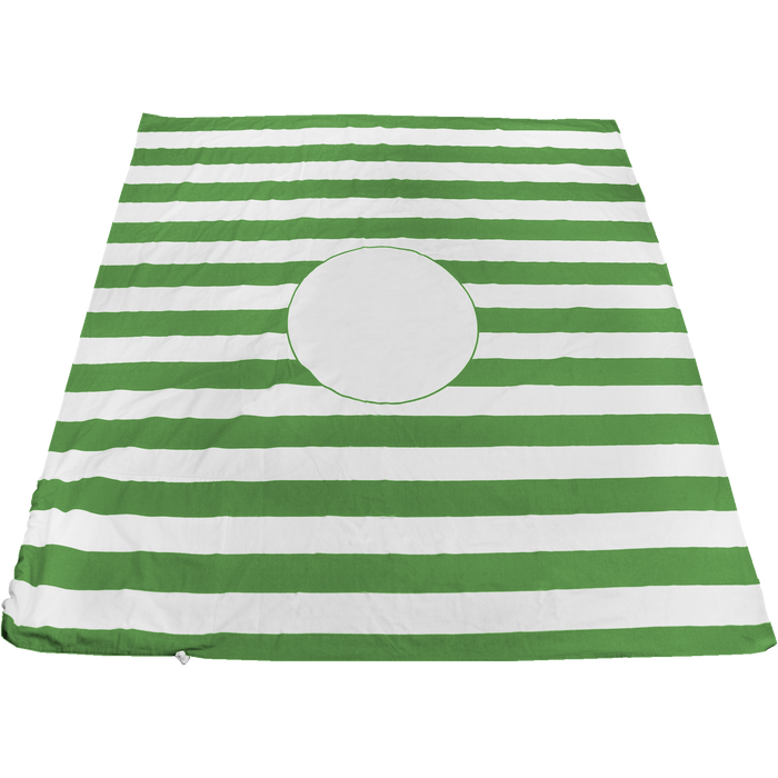 Lime Green Mainland Beach Blanket Bag