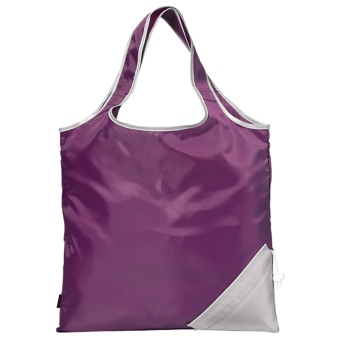Purple Stow & Tote
