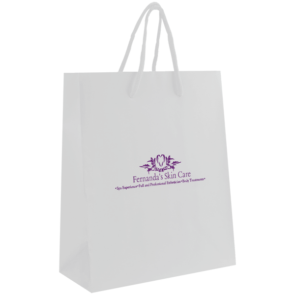 paper bags,  breast cancer awareness bags,