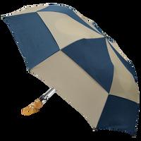 Navy/Tan Archer Umbrella Thumb