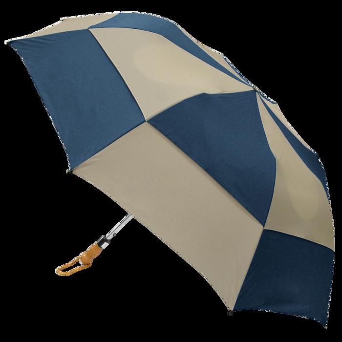 Navy/Tan Archer Umbrella