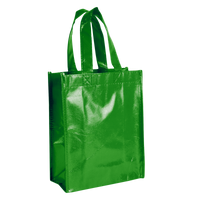 Lime Green Laminated Fiesta Tote Thumb