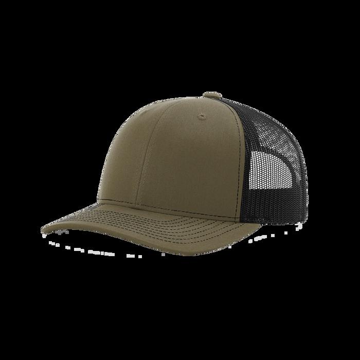 Londen/Black Richardson Trucker Snapback Hat