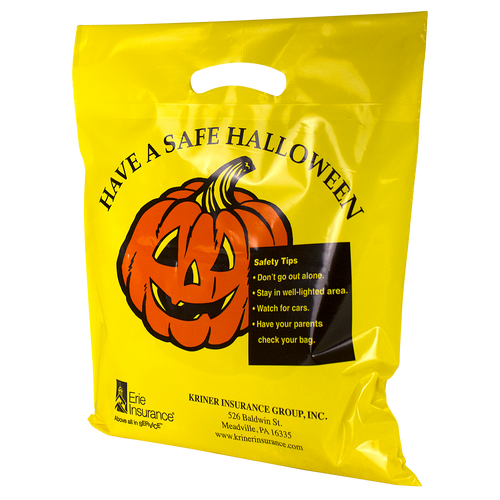 Yellow Pumpkin Bag
