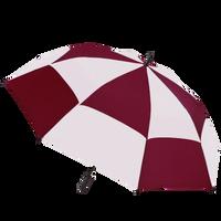 Burgundy/White Hydra totes® Umbrella Thumb
