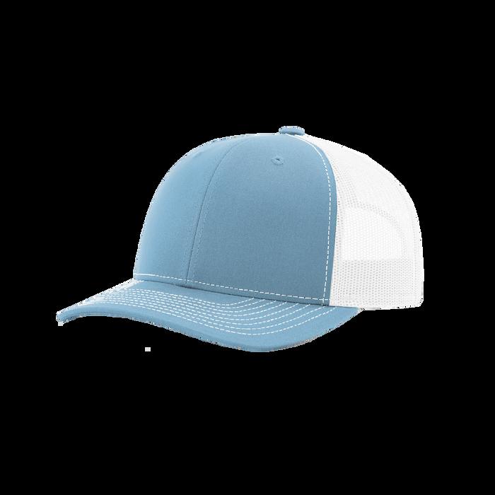 Columbia/White Richardson Trucker Snapback Hat