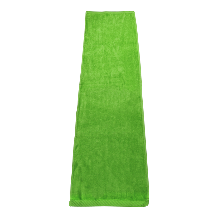 Lime Green Endurance Color Fitness Towel