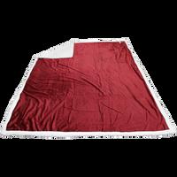 Garnet Breckenridge Faux Lambswool Blanket Thumb