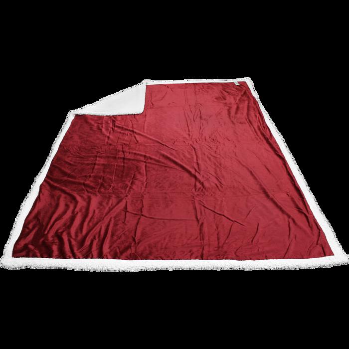 Garnet Breckenridge Faux Lambswool Blanket