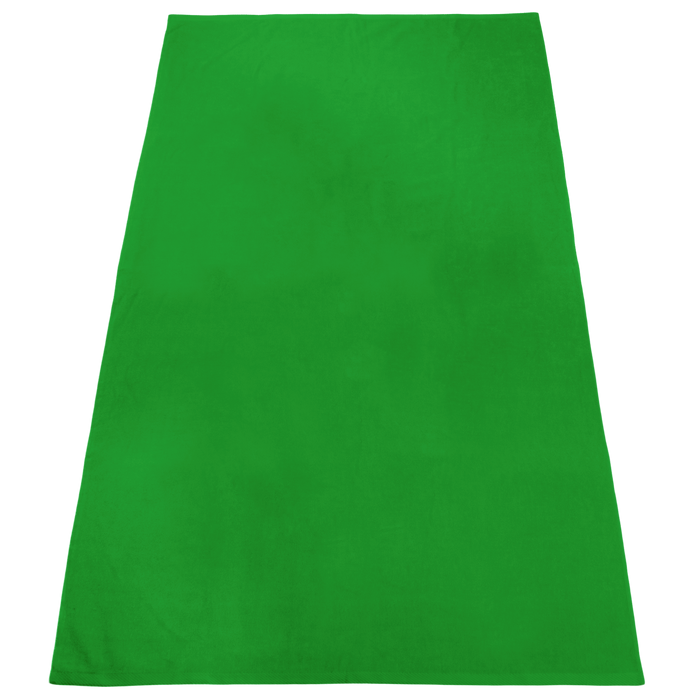 Lime Green Nautica Color Beach Towel