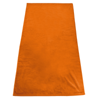 Orange Gypsea Color Beach Towel Thumb