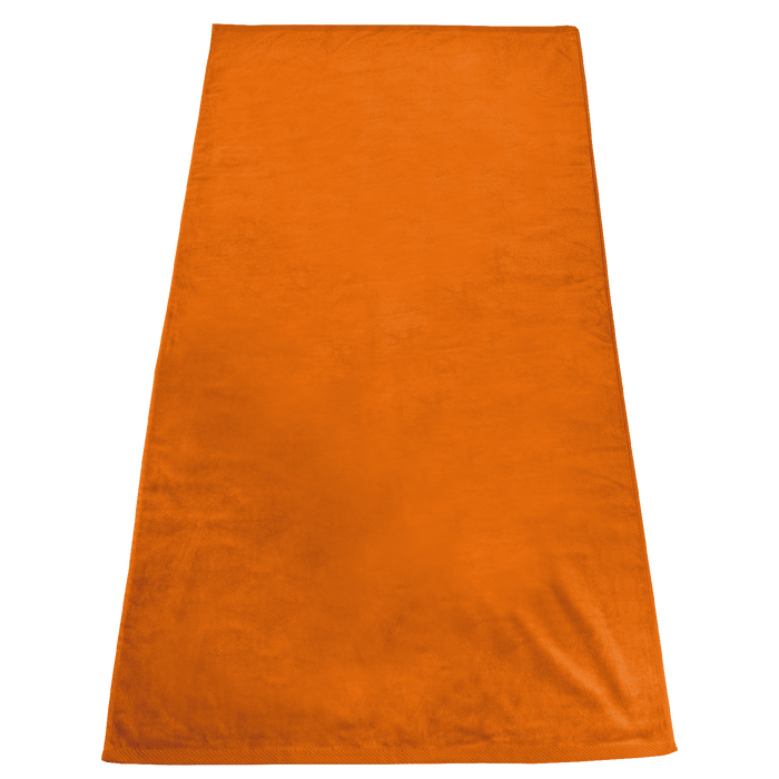 Orange Gypsea Color Beach Towel