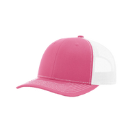 Pink/White Richardson Trucker Snapback Hat Thumb