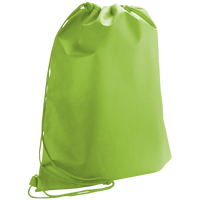 Lime Green Classic Drawstring Backpack Thumb