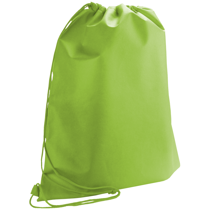 Lime Green Classic Drawstring Backpack