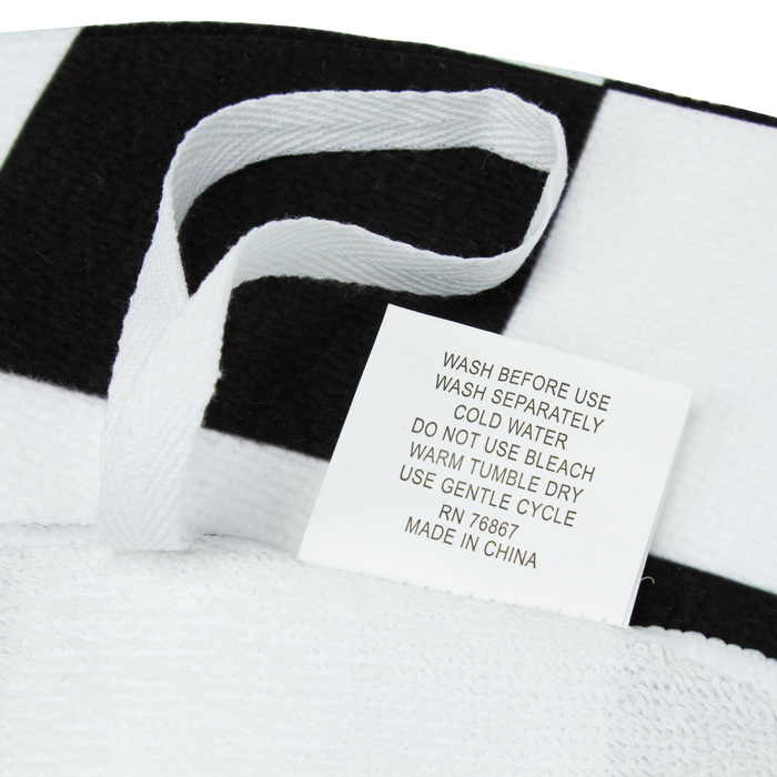 Full Color Round Rally Towel