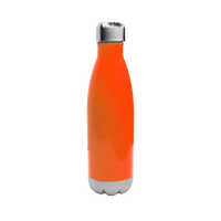 Neon Orange Vacuum Insulated Thermal Bottle Thumb
