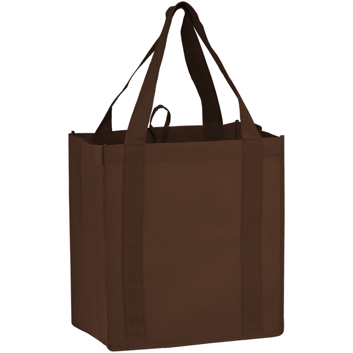 Brown Little Storm Grocery Bag