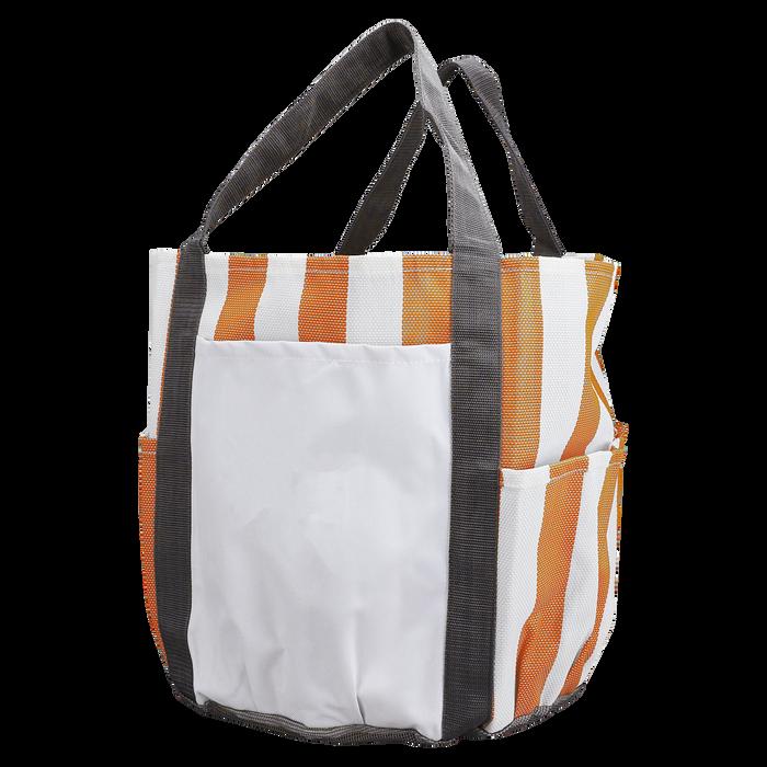 Orange Archipelago Beach Bag