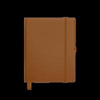 Tan Medium Soft Faux Leather Journal Thumb